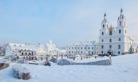 冬天米斯克 免版税库存图片
