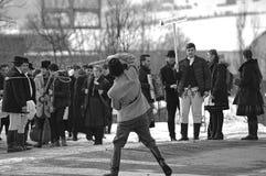 冬天结尾狂欢节18 免版税库存照片