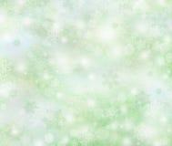 冬天背景,明亮的bokeh背景 免版税图库摄影