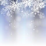 冬天背景 免版税库存照片