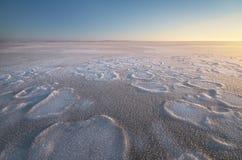 冬天自然风景 免版税图库摄影