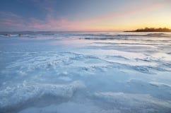 冬天自然风景 库存照片