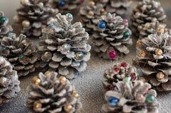冬天节日的装饰 免版税库存照片