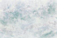 冬天蓝色传统纸纹理冰背景  免版税图库摄影