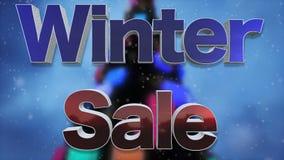 冬天销售背景圈 影视素材