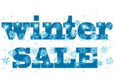 冬天销售额标签 免版税库存图片