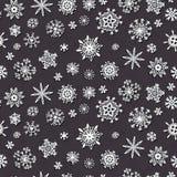冬天雪剥落乱画样式 Xmas装饰 皇族释放例证