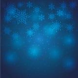 冬天雪或雪花 免版税库存照片