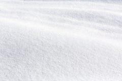 冬天雪纹理 免版税库存图片