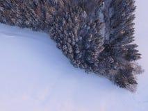 冬天风景天线 图库摄影