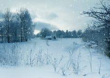 冬天风景, 12月 库存照片