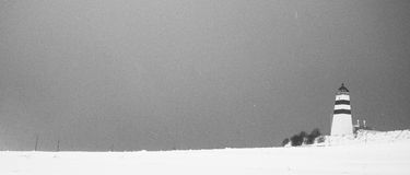 冬天风暴 库存照片