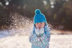 冬天魔术 库存照片