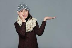 冬天,圣诞节,假日概念 免版税库存图片