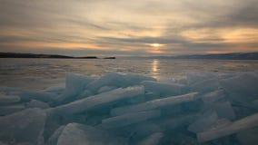 冬天贝加尔湖的看法 股票视频