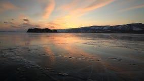 冬天贝加尔湖的看法 股票录像