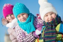 冬天活动 库存图片