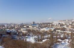 冬天Pyatigorsk。 免版税库存图片