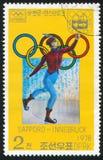 冬季奥运会 图库摄影