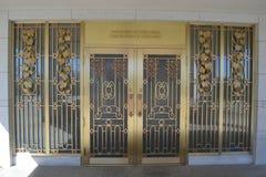 冬季寺庙奥马哈内布拉斯加 库存图片