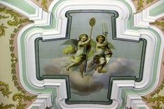 冬宫和埃尔米塔日博物馆-圣彼得 图库摄影