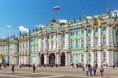 冬宫在圣彼得堡,俄罗斯 库存照片