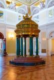 冬宫的内部 免版税库存照片