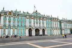 冬宫,埃尔米塔日博物馆在圣彼得堡,俄罗斯 库存图片