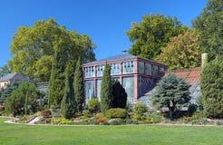 Botanischer Garten卡尔斯鲁厄,德国 库存照片