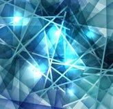 冰与冷淡的表面的线纹理的抽象背景 库存例证