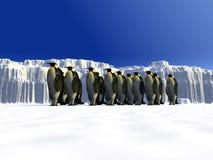 冰世界9 库存照片