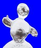 冰人 免版税库存照片