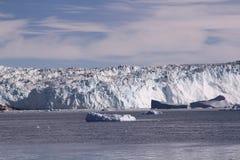 冰冰川格陵兰 免版税库存图片