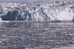 冰冰川格陵兰 免版税图库摄影