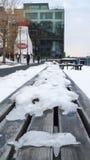 冰冷的南波士顿早晨 库存图片