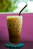 冰冷的咖啡 库存图片