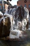 冰冷的喷泉 免版税库存照片