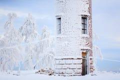 冰冷的塔 图库摄影