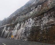 冰冷的山 图库摄影