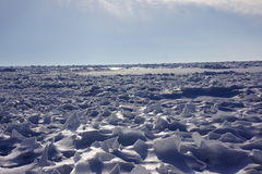 冰冷的横向 免版税库存照片