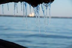 冰冷的灯塔 免版税库存图片
