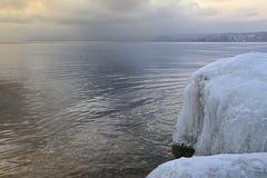 冰冷的石头 免版税图库摄影