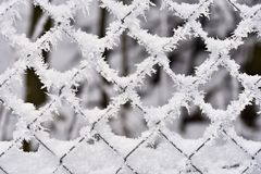 冰冷的范围 美好的冬天季节性抽象背景 库存照片