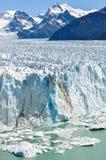 冰冷的风景,佩里托莫雷诺冰川,阿根廷 免版税库存图片