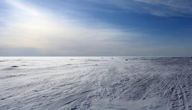 冰冷的风 库存照片