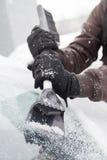 冰刮板 免版税库存图片