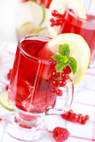 冰刷新的夏天茶 免版税库存图片