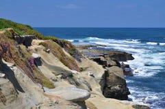 沿海虚张声势视图 库存照片