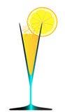 冰和柠檬 免版税图库摄影