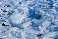 冰和闪烁 免版税库存照片